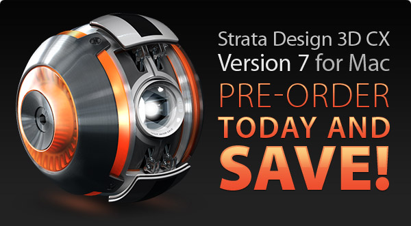 Strata Design 3D CX 7 For Mac